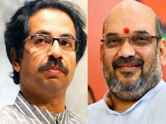 Shah and Thackeray in the same flight, but did not talk