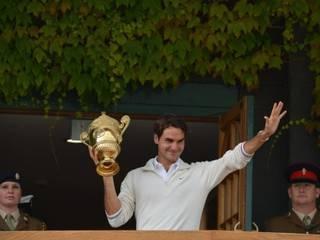 तस्वीरों में: फेडरर ने 7वीं बार जीता विंबलडन