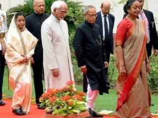 प्रणब मुखर्जी बने भारत के नए राष्ट्रपति 