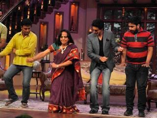 चेन्नई एक्सप्रेस पहुंची 'कामेडी नाईट्स विथ कपिल' शो में