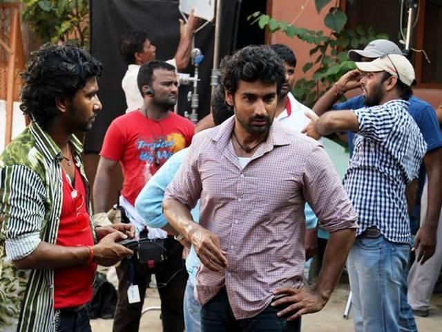 फिल्म 'गैंग्स ऑफ बनारस'की शूटिंग की एक झलक
