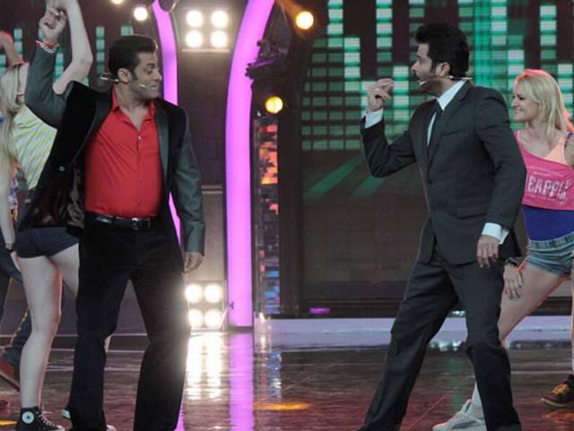 बिग बॉस: सलमान खान, अनिल कपूर ने बिग बॉस को बनाया 'झकास'