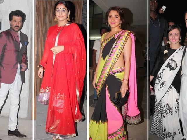 आमिर खान की दीवाली पार्टी में उमड़े बॉलीवुड सितारे