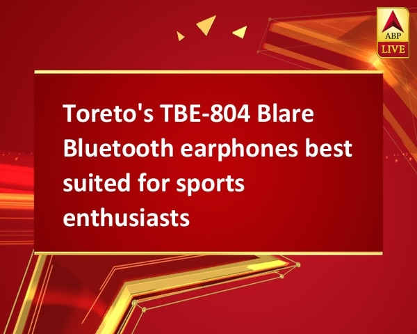 Toreto's TBE-804 Blare Bluetooth earphones best suited for sports enthusiasts