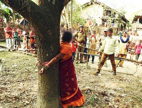 Six-hour torture for woman in WB: Lady tied to tree, assaulted over refusal to withdraw case