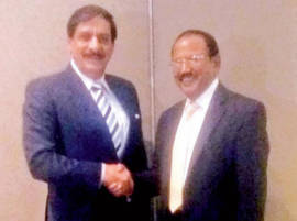 NSA Ajit Doval, his Pakistani counterpart Nasir Khan Janjua bond over cigarettes