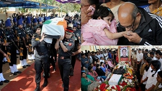 Hundreds Pay Tribute To Pathankot Martyr Lt Col Niranjan ...