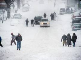 Monster snowstorm in US leaves 19 dead, paralyses East Coast