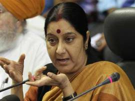 Foreign Minister Sushma Swaraj takes a dig at Shah Rukh Khan over surrogacy