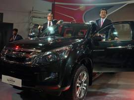 Auto Expo 2016: Isuzu unveils adventure utility vehicle D-MAX V-Cross