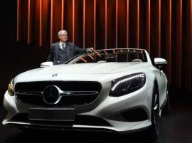 Auto Expo 2016: Mercedes-Benz unveils SUV GLC and S-Class Cabriolet