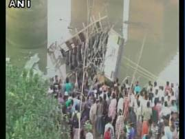 36 killed, 25 injured as bus falls into Gujarat river