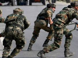 Six militants, soldier killed in separate Kashmir gunfights