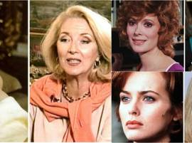 11 Bond Girls THEN AND NOW
