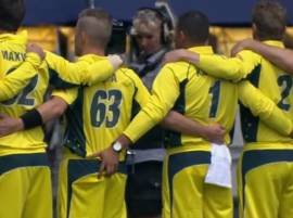 SHOCKING: Australia's Usman Khawaja caught grabbing teammate's bottom!