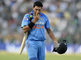 Yuvraj Singh may have to remain content with No. 5 spot