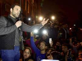Proud that in my country ABVP has right to show black flags at me: Rahul Gandhi