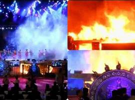 MUMBAI: Fire at 'Make in India' cultural event under control, confirms CM Fadnavis