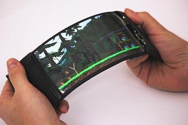 World's first flexible smartphone that bends it like Beckham!