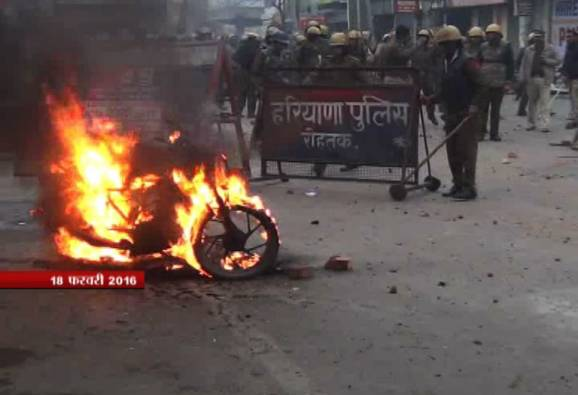 Jat agitation: 1 killed, 9 injured in police firing; army called in