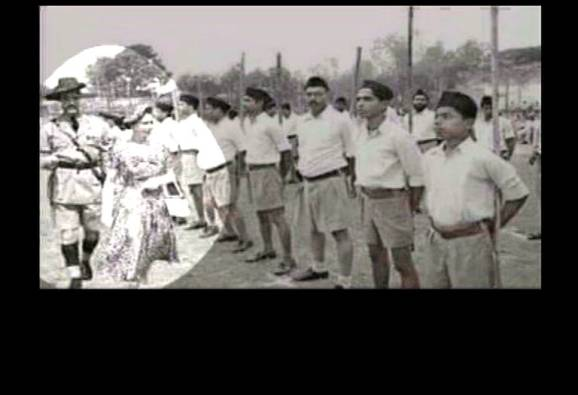 Viral Sach: RSS workers never gave British queen guard of honour