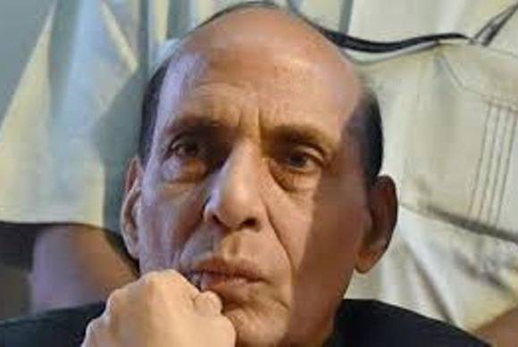 Rajnath appeals for Kashmir peace, tells Pakistan to behave
