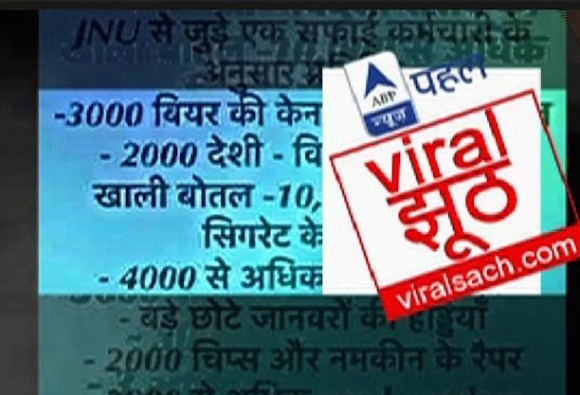 Viral Sach: 3000 condoms used daily in JNU?