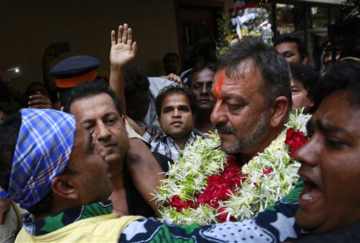 LIVE : I am not terrorist, says 'freeman' Sanjay Dutt