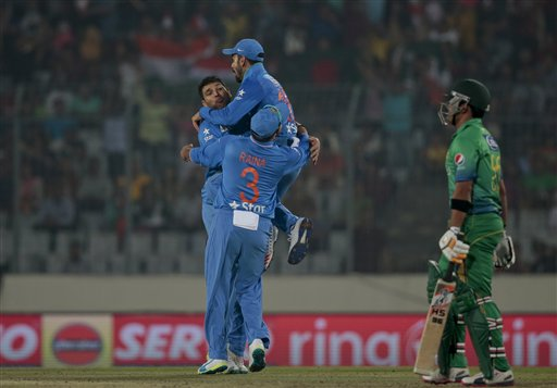 Political cloud over Indo-Pak World T20 tie