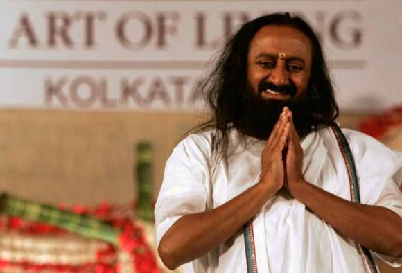 Gita invoked on guru ji: Appeal to shift venue of Yamuna festival