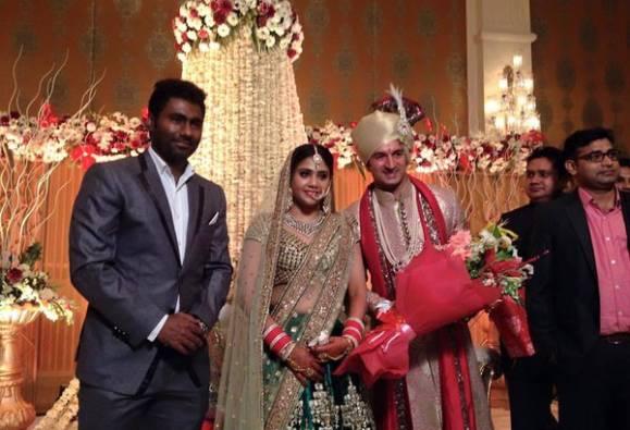 Cricketer Mohit Sharma gets married to girlfriend Shweta in Delhi