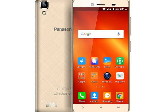 Panasonic T50 smartphone launched at Rs. 4,990