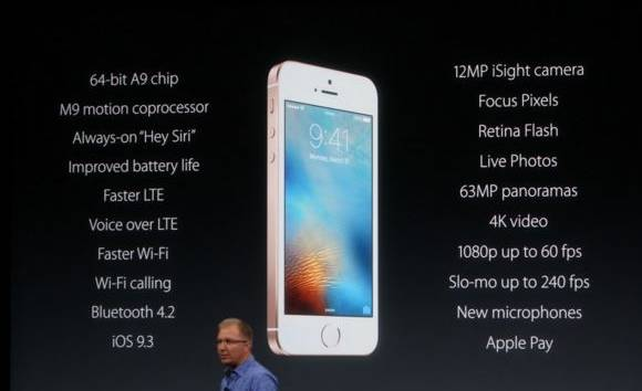 Apple launches smaller, powerful 4-inch iPhone SE at Rs 39,000; will arrive in April