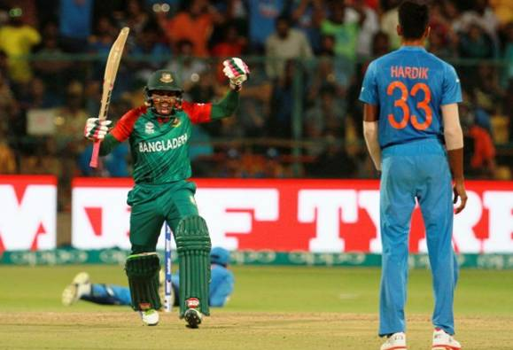 World T20: Bangladesh fined for slow over-rate against India