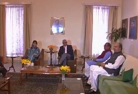 BJP, PDP alliance beyond govt formation: Mehbooba