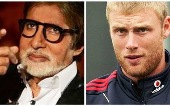 World T20: Amitabh Bachchan trolls Andrew Flintoff on Twitter