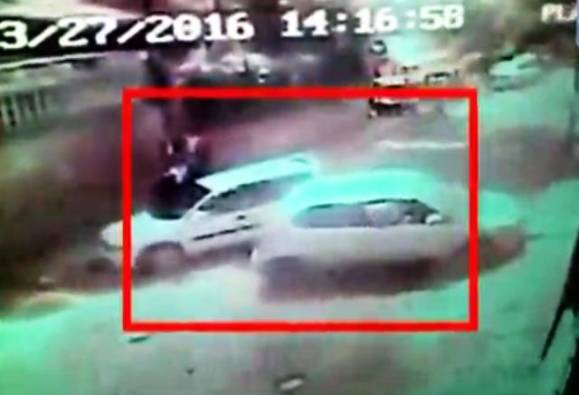 Watch: Car rams into cars & bikes, one dead, few injured