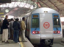 AI sets up check-in counters at New Delhi Metro station