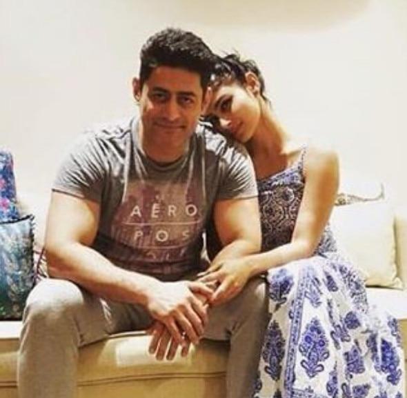PICS: Mouni Roy celebrates birthday with boyfriend Mohit Raina and ...