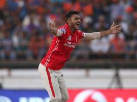 Axar's hat-trick gives KXIP 23-run win over Gujarat Lions
