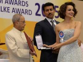 Kangana Ranaut, Amitabh Bachchan, Kabir Khan Receive National Awards