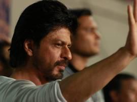 Shah Rukh Khan attends first KKR match with son AbRam