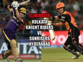 Eliminator KKR vs SRH Live Score IPL 2016: Sunrisers Hyderabad beat Knight Riders by 22 runs