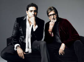 Big B not hosting any political event: Abhishek Bachchan