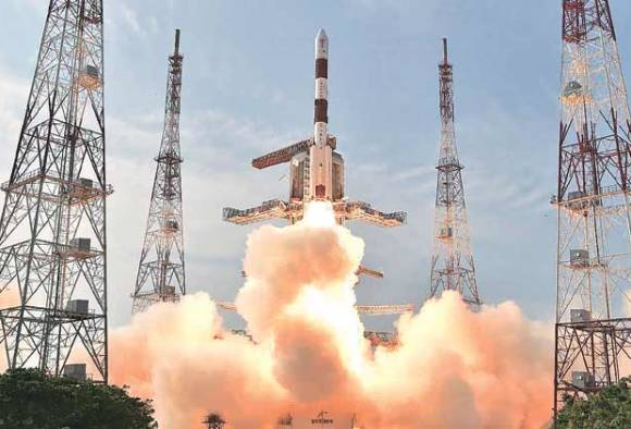 PSLV C-34 with 20 satellites, including India's Cartosat-2 series