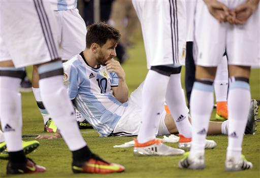 Lionel Messi says he is quitting Argentina national team