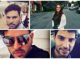 Yuvraj Singh Is Enjoying In London With Fiancée Hazel Keech!