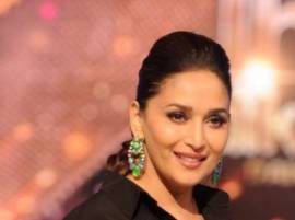 Madhuri Dixit breaks down on TV set