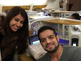 Karan Patel and Ankita Bhargava take off to London for long-pending honeymoon
