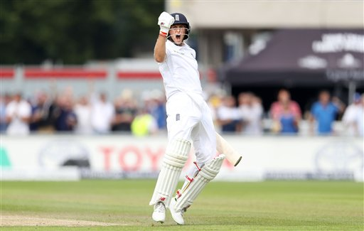 Joe Root closing on double hundred as England take control